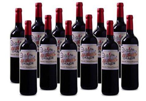 12 Flaschen Casa del Valle   El Tidón Tempranillo Cabernet Sauvignon für 45€   goldprämierter Rotwein