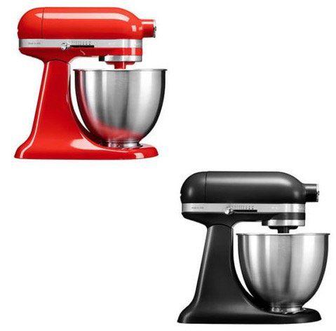 KITCHENAID 5KSM3311X Mini Küchenmaschine mit 3,3L Rührschüssel für 289€ (statt 371€)