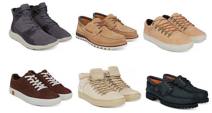 Timberland Sale für Damen, Herren und Kinder bei vente privee   z.B. Timberland Herren Stiefelette Flyroam Leather Hiker für 45,90€ (statt 76€)