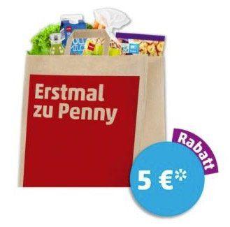 5€ Rabatt bei Penny ab 40€ Einkaufswert