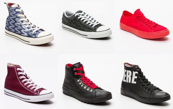 Converse Sale bei vente privee   z.B. Sneakers Chuck Taylor All Star in Rot ab 22,90€ (statt 34€)