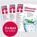 """3 Ausgaben """"test"""" von der Stiftung Warentest für 9,90€ + gratis test Jahrbuch 2019 im Wert von 14,90€"""