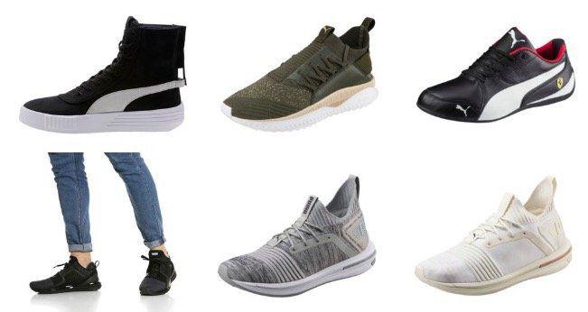 Puma Sale mit bis zu 50% Rabatt + weitere 22% Extra Rabatt   z.B. Puma IGNITE Limitless SR evoKNIT Sneaker für 55,65€ (statt 65€)