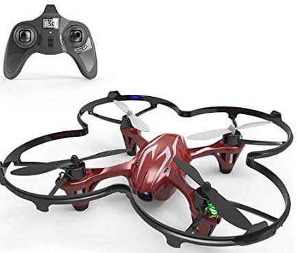 Hubsan X4 H107C   2.4G 4CH RC RTF Quadcopter in Rot für 20,89€ (statt 38€)