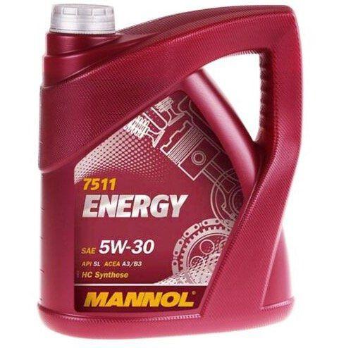 5 Liter MANNOL 5W-30 Energy Motoröl für 18,69€ (statt 27€)