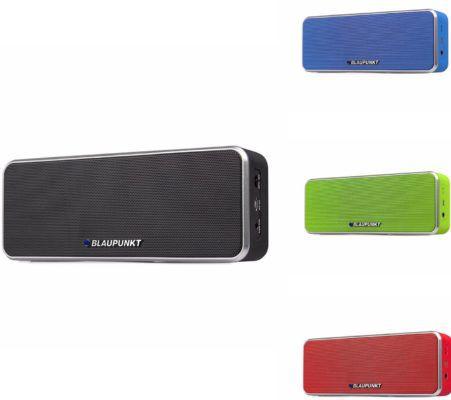 BLAUPUNKT BT 6 Boombox   Bluetooth Lautsprecher mit Freisprecheinrichtung für 24,95€