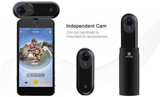 Insta360 ONE   360° Aufsteck Kamera für iPhone (UHD 4K, 24MP) für 243,07€ (statt 295€)