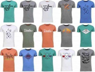Derbe Hamburg   Herren Logo T Shirts für je 22€
