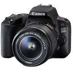 Canon EOS 200D – 24MP DSL Kamera mit WLan u. Touchscreen +  Zubehör für 444€ (statt 564€)