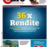 Knaller! 13 Ausgaben Euro am Sonntag für 58,50€ + 58,50€ Verrechnungsscheck