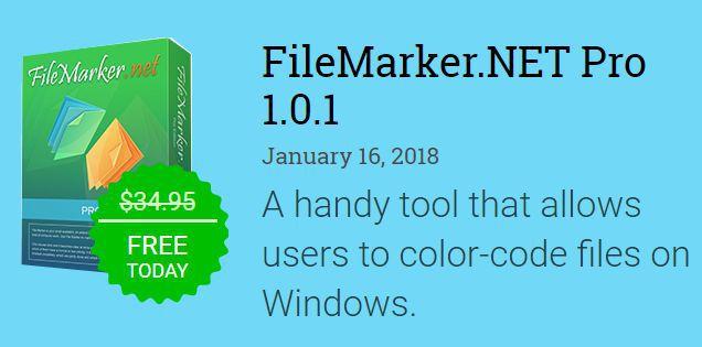 FileMarker.NET Pro (Windows, Mac) kostenlos