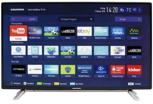 Vorbei! Grundig 40 GFB 6728   40 Zoll Full HD Fernseher mit WLAN für 219€ (statt 460€)