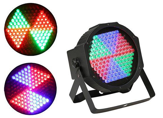 2 Bühnenlichter mit 127 LEDs (25W, DMX512) für 21,73€   aus DE