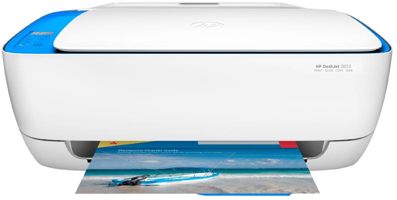 HP Deskjet 3633 + Fotopapier Tintenstrahl 3 in 1 Multifunktionsdrucker für 53,99€ (statt 69€)