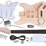 Elektrische Gitarre zum Selberbauen für 54,97€