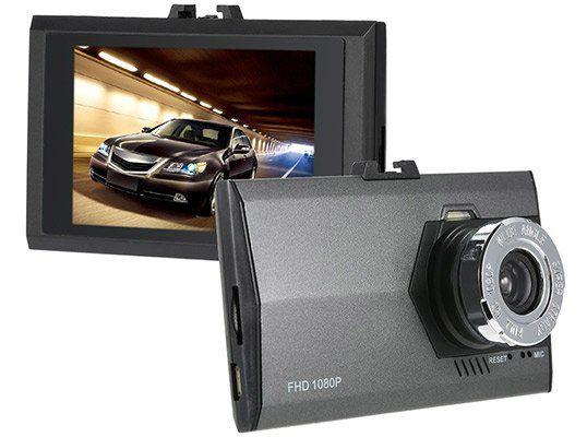 KKMOON Ultra Slim 3.0 Dashcam mit 1080p für 17,33€