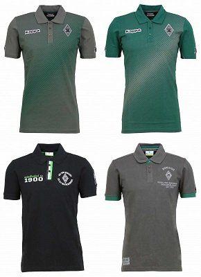 Kappa Borussia Mönchengladbach Herren Poloshirts in verschiedenen Farben für 25€ (statt 30€)