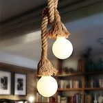 Hängeleuchte aus Seilen für 6,78€
