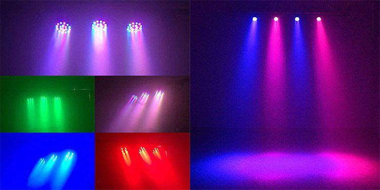 Bühnenlicht mit 18 LED, 18W und DM512 für 15,24€ (statt 24€)