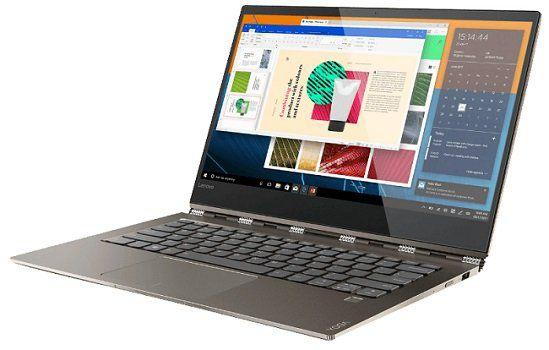 LENOVO Yoga 920 Convertible mit 13.9, UHD 4K, 512GB SSD, 8 GB RAM, i7, Win 10 für 1.333€ (statt 1.594€)
