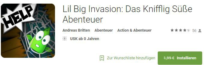Lil Big Invasion (Android) gratis statt 1,99€