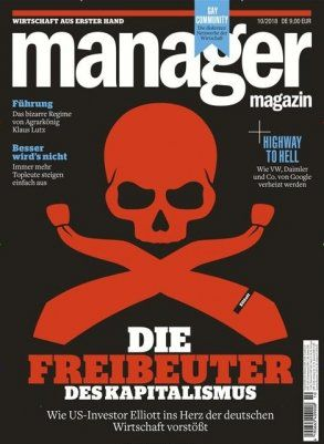 3 Ausgaben Manager Magazin für 27€ + 27€ Verrechnungsscheck