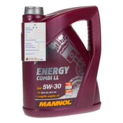 5 Liter MANNOL 5W 30 Energy Combi LL Motoröl für 21,99€