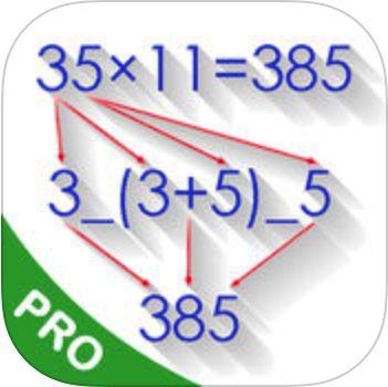 Mathematische Tricks (100+) PRO (iOS) gratis statt 2,29