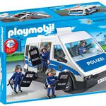 PLAYMOBIL City Action Bundespolizei – Mannschaftswagen 9397 ab 22,99€