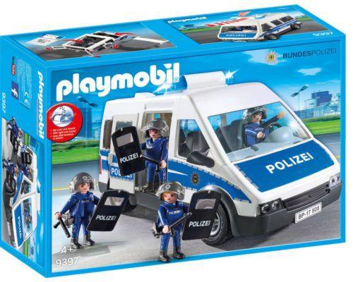PLAYMOBIL City Action Bundespolizei   Mannschaftswagen 9397 ab 22,99€