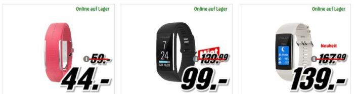 Media Markt POLAR Tiefpreisspätschicht: günstige FitnessTracker   z.B. POLAR Loop2 für 44€
