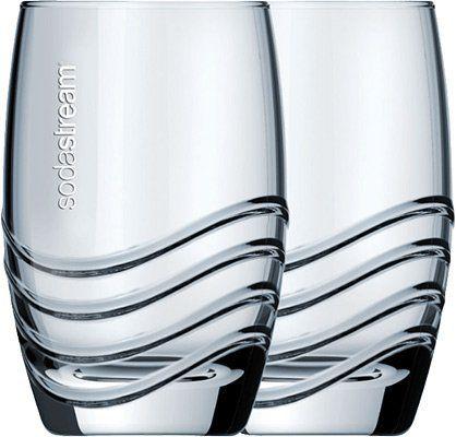 Sodastream Trinkgläser 1065000490 (4 tlg.) für 9€ (statt 16€)