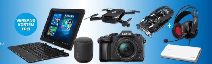 Saturn Late Night Shopping Übersicht   u.a.: PANASONIC Lumix DMC G81MEG Systemkamera statt 876€ für eff. 749€