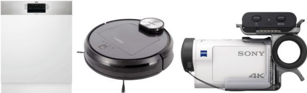 Saturn Late Night Shopping Übersicht   u.a.: ECOVACS R95MKII Saugroboter statt 489€ für 399€