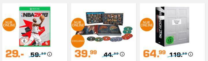 Saturn Weekend Sale: z.B. XBox one S 500GB + Assasins Creed für 229€