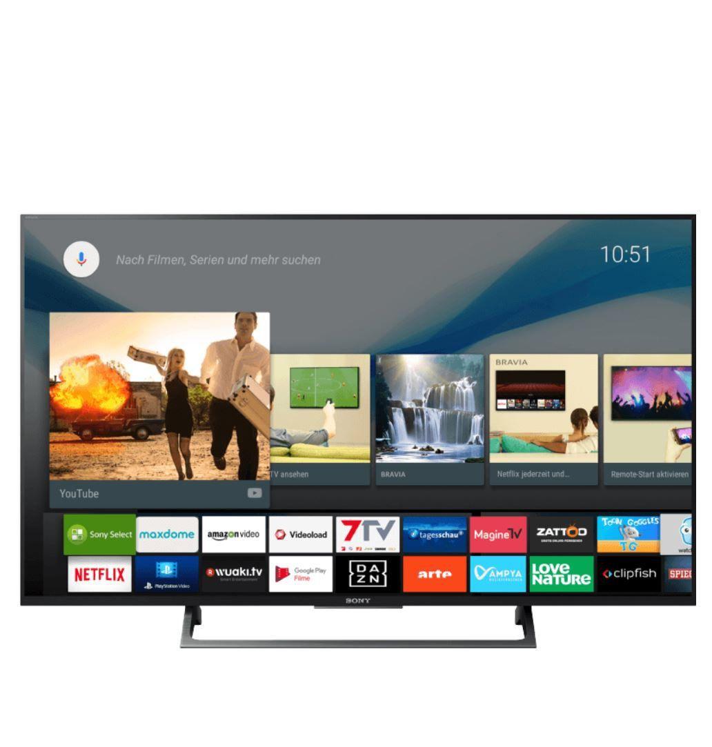 Sony KD 49XE8005   49 Zoll 4K Smart TV mit USB Aufnahme für 599€ statt 752€