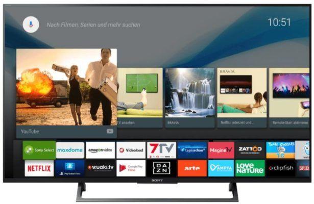 Sony KD 49XE8005   49 Zoll 4K Smart TV mit USB Aufnahme für 549€ (statt 666€)