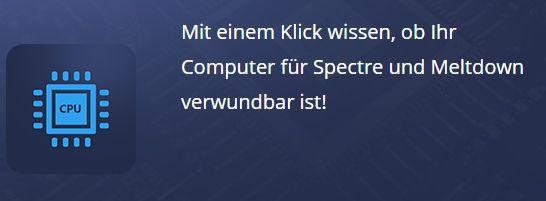 Ashampoo Spectre Meltdown CPU Checker (Vollversion) gratis