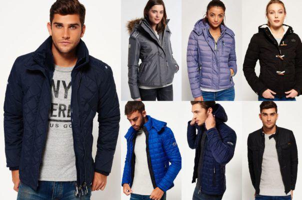 Superdry  Jacken   verschiedene Damen und Herren Modelle bis 3XL für je 50,95€