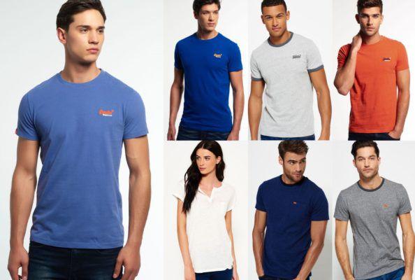Superdry Damen und Herren T Shirts   38 Modelle für je 12,95€