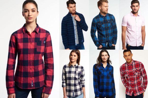 Superdry Herren Hemden   neue Modelle für je 26,95€