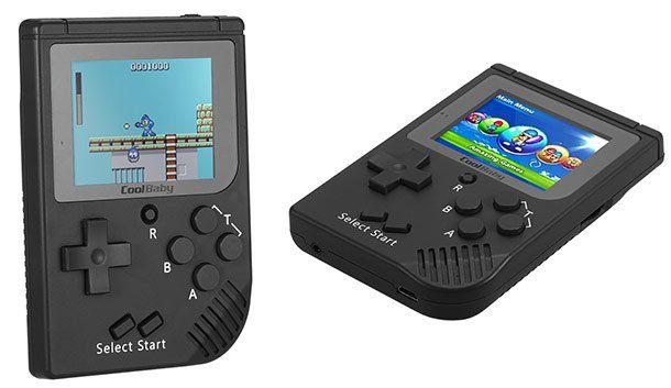 Pocket Handheld mit 129 Spielen für 13,99€