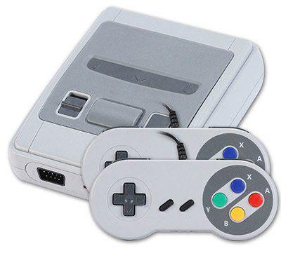 Nintendo SNES Nachbau mit 621 Spielen für 24,89€
