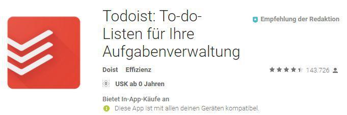 Todoist Premium 9 Monate kostenlos dank Aktionscodes