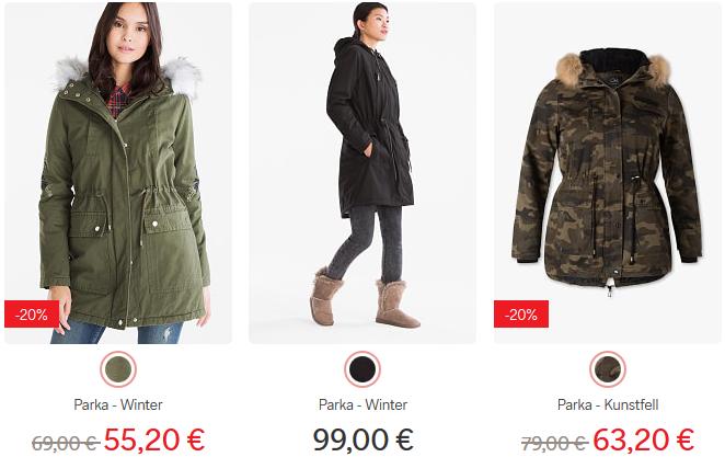 C&A Sale mit bis zu 70% Rabatt   T Shirts ab 2,40€   Winter Parka ab 59€ + 20% ComeBack Gutschein