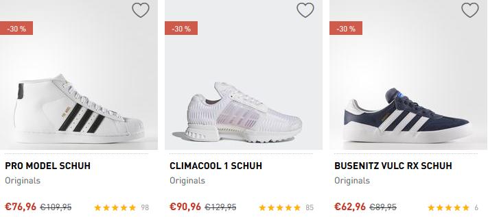 Nur heute! adidas Sale mit bis zu 50% Rabatt + 20% Gutschein VSK frei ab 50€