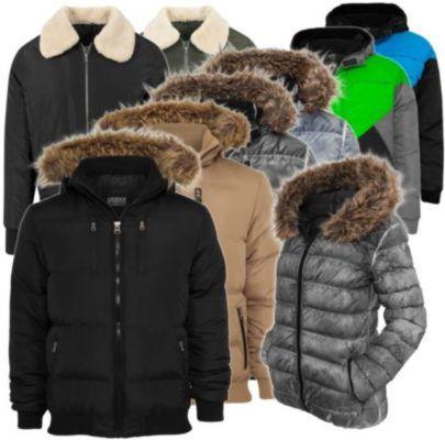 URBAN CLASSICS Premium Damen & Herren Winter Jacken & Parkas für je 39,90€