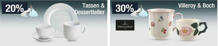 30% Rabatt auf Villeroy & Boch   20% auf Kindemode uvm.   Galeria Kaufhof Mondschein Angebote