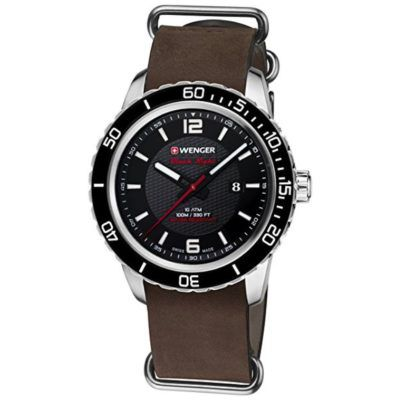 Wenger Roadster Black Night Unisex Armbanduhr für 75,83€ (statt 164€)