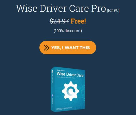 Wise Driver Care Pro (Vollversion) gratis
